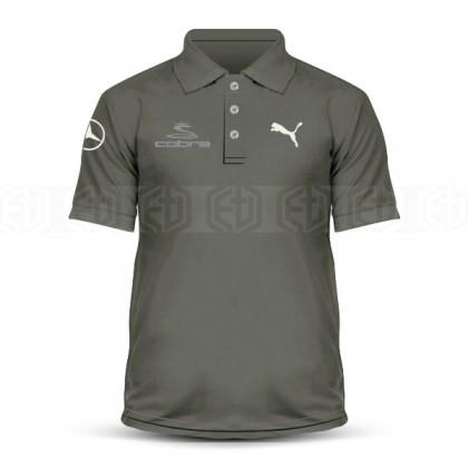 Microfiber Polo T Shirt Sulam Puma Cobra Mercedes Golf Iron Swing Driver Putter Sand Wedge Masters PGA Tour Casual Sport