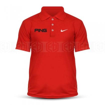 Microfiber Polo T Shirt Sulam Ping Nike Golf Iron Swing Ball Marker Driver Wedge Putter Sand FJ Masters PGA Tour Sports