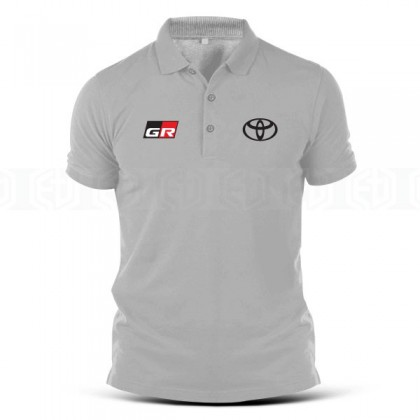Polo T Shirt Toyota GR Supra TRD Tuning Racing Team Hilux Fortuner Turbo Car Camry Harrier Motorsport Drift Performance